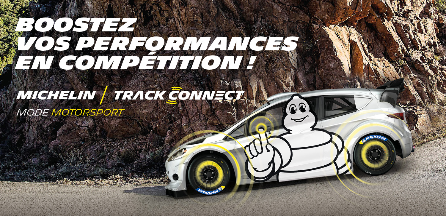 MICHELIN TRACK CONNECT MODE MOTORSPORT