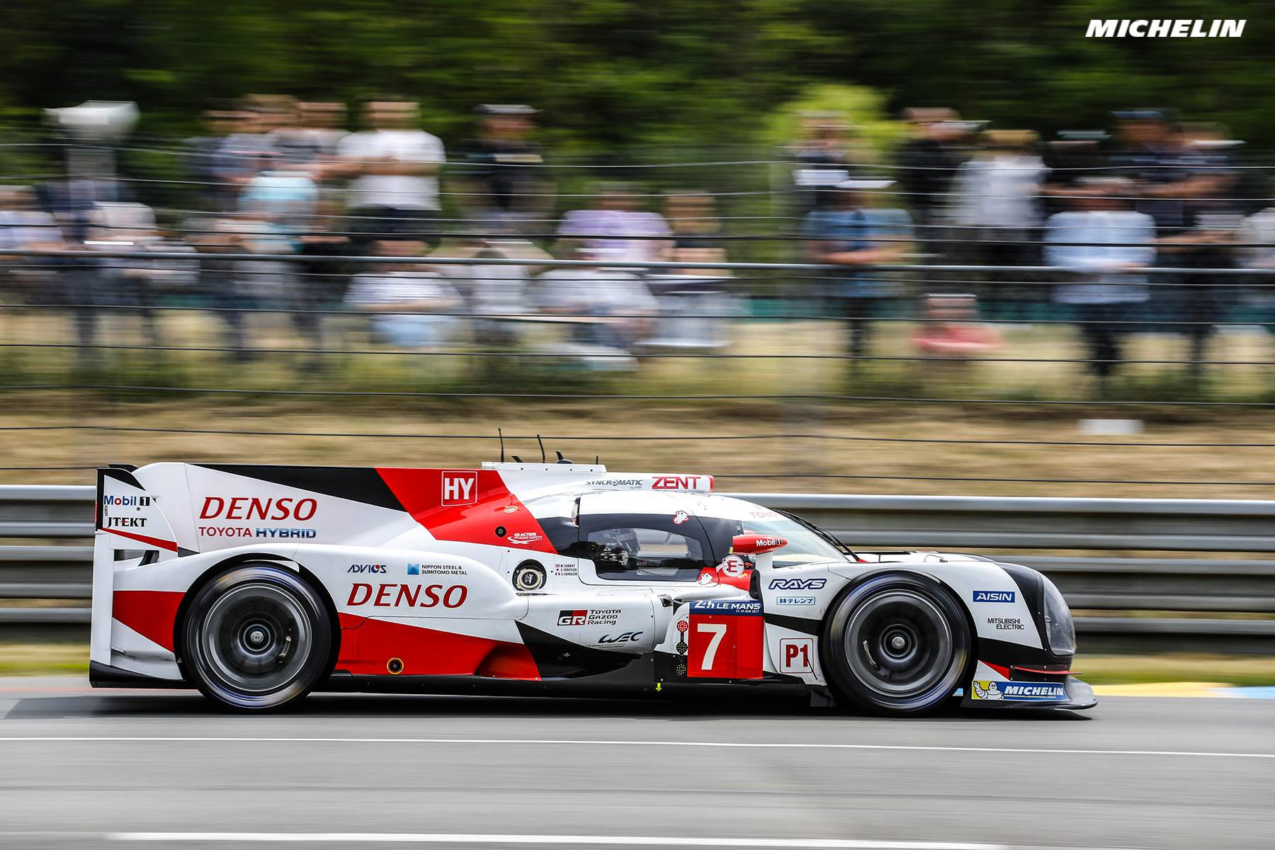 24 Heures Du Mans Toyota Michelin Domine La Journ 233 E Test