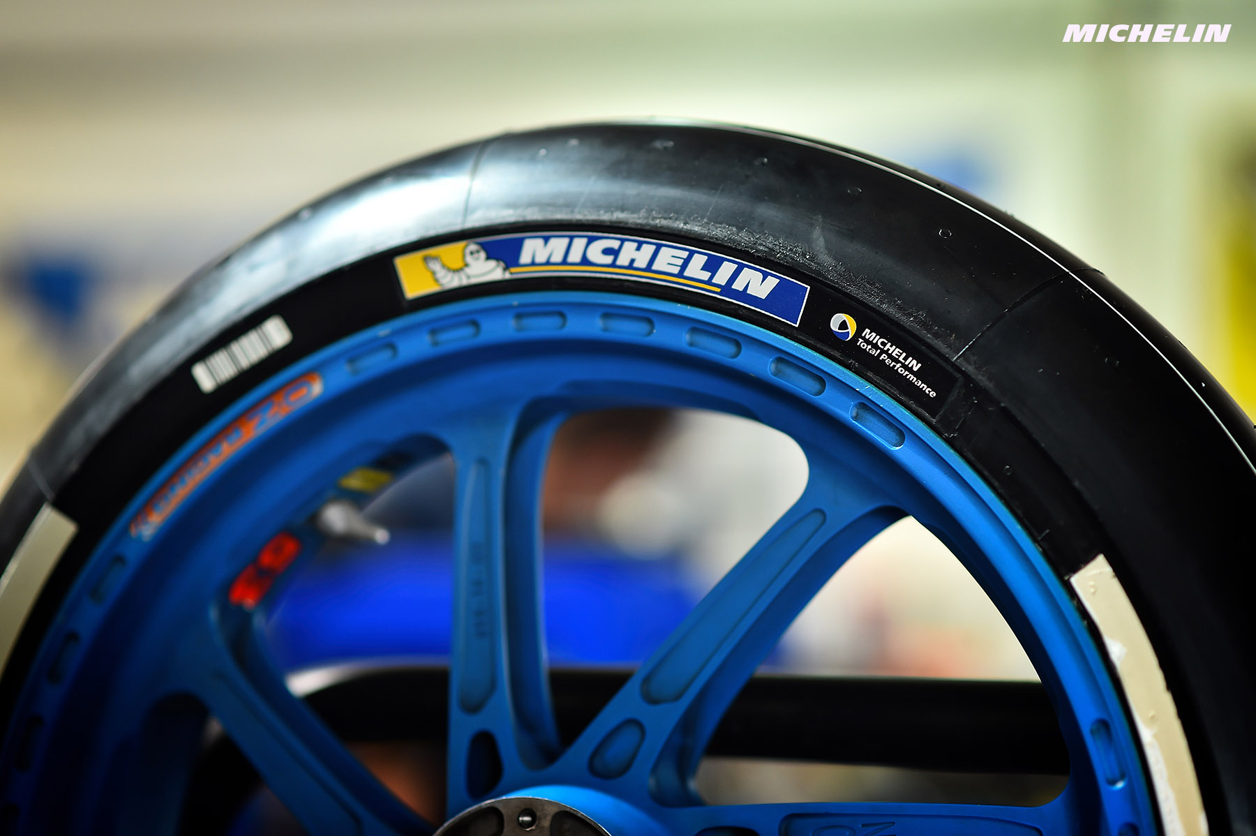 Michelin, manufacturier officiel en MotoGP jusqu'en 2023