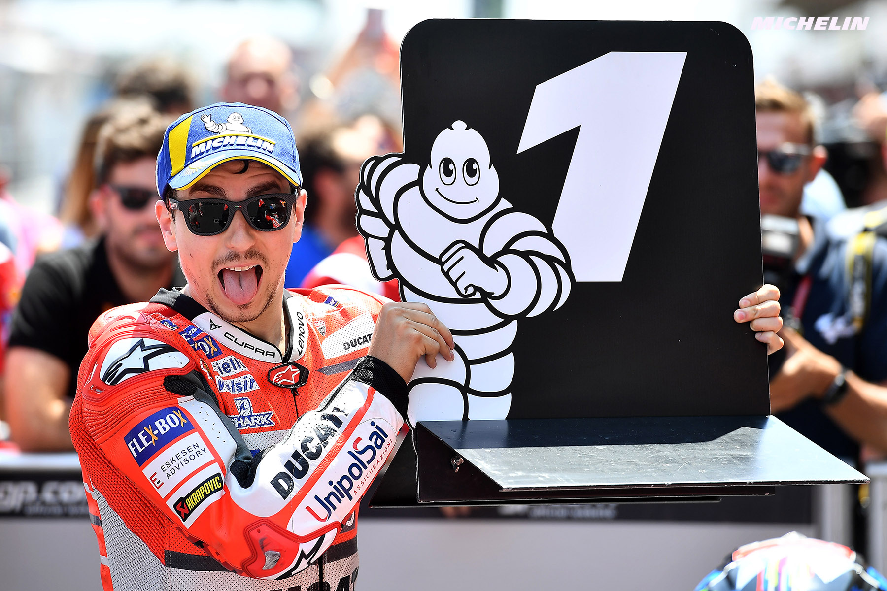 MotoGP™: Lorenzo (Ducati Team/Michelin) confirme en Catalogne