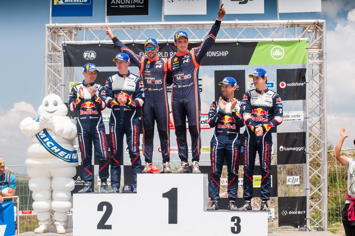 Thierry Neuville gagne au Portugal